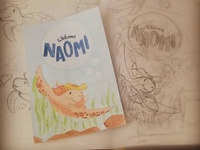 """Welcome Naomi"" card"