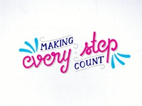 Make Every Step Count Dribbble