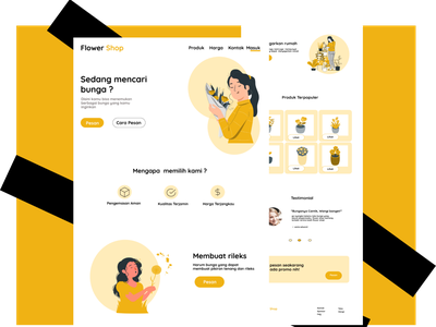 UI Design FlowerShop ui