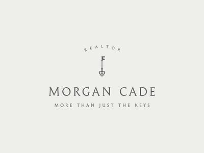 Morgan Cade Realtor branding design icon vector illustration design branding logo graphic design