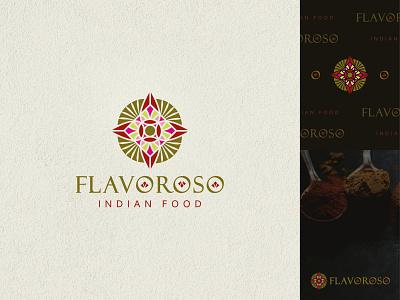 Flavoroso Branding Design typography vector illustration design branding logo graphic design