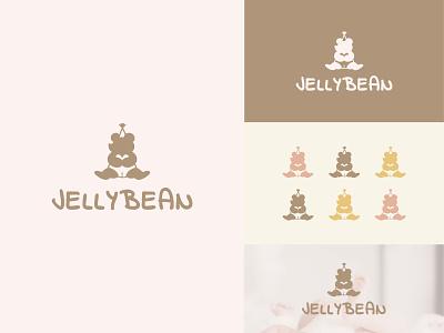 Jelly Bean Branding Design typography vector logo illustration graphic design design branding