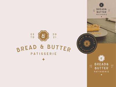 Bread & Butter Branding Design typography vector logo illustration graphic design design branding