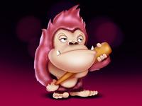 heavy hitman monkey