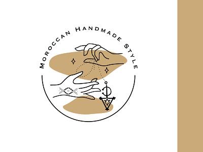 Moroccan Handmade Style design png creative ui branding logo graphic design