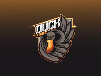 Duck Mascot Logo ui ux vector mascot logo illustration gamers design branding gaming gamers design graphic designesports logo logo design duc illustration duck logo duck vector duck mascot