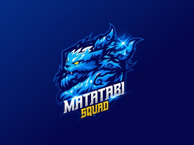 Matatabi Mascot channel esports gaming gamers design branding logo cartoon vector illustration logo design mascot matatabi