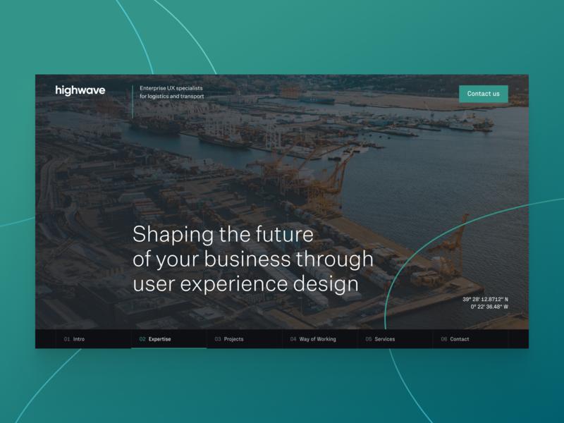 Highwave – Enterprise UX specialists webflow mobility commerce transport logistics enterprise software enterprise ux ui ux enterprise website
