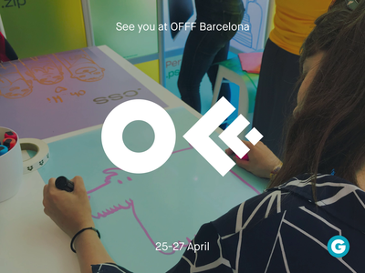 See you at OFFF 2019 in Barcelona! event gusta offf festival design festival barcelona offf