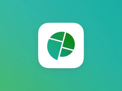Polder - Logo editor writing branding internal communication platform app polder logo