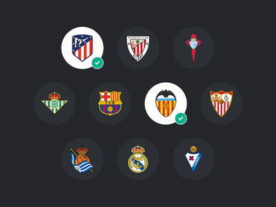 LaLiga Sports TV - Design System library component library ui kit styleguide football club design systems soccer match football sports web app mobile tv design system laliga