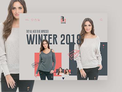 130 Shots Clothing Website design web design web