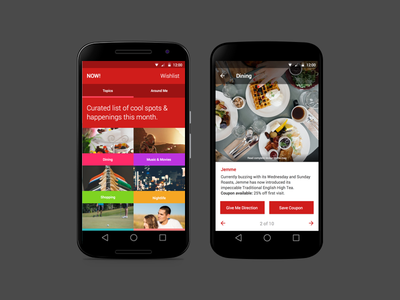 Lifestyle App material android lifestyle
