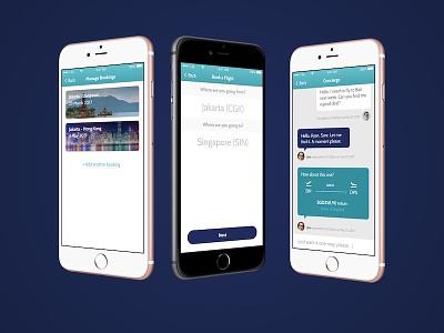 Garuda Indonesia Mobile App redesign app mobile indonesia garuda