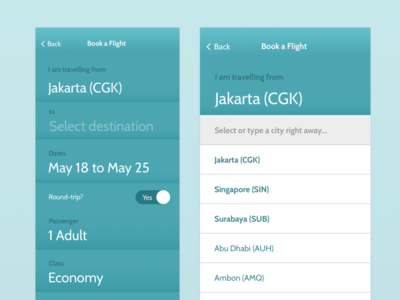 Garuda Indonesia iteration airline travel air redesign app mobile indonesia garuda