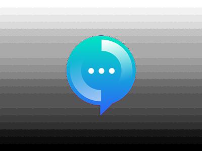 Logo for a Chatbot apps chatbot logo