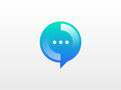 Logo for a Chatbot apps chatbot logo