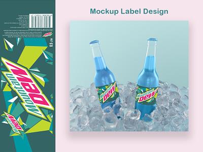 Mockup Label Design ux ui app typography logo illustration vector graphic design design branding