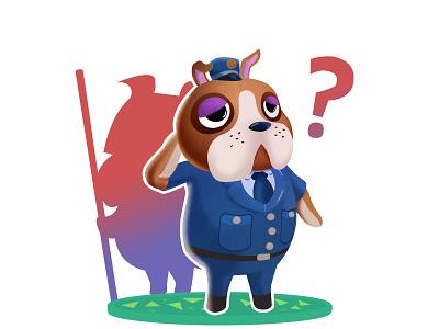 Booker - Animal Crossing (DailyXing #22) illustration character design characterdesign booker animal crossing animalcrossing