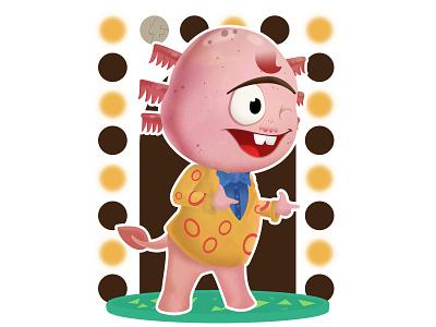 Dr. Shrunk - Animal Crossing (DailyXing #24) illustration character design characterdesign drshrunk animal crossing animalcrossing