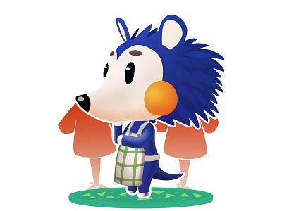 Mabel - Animal Crossing (DailyXing #25) illustration character design characterdesign mabel animal crossing animalcrossing