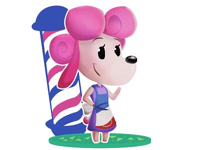 Harriet - Animal Crossing (DailyXing #28) illustration character design characterdesign harriet animal crossing animalcrossing