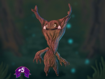 Arbwist  character design characterdesign character fantasy trees tree roots