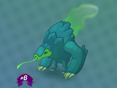 #6 Pango-Pollution mascot animal illustration character characters pollution pangolin