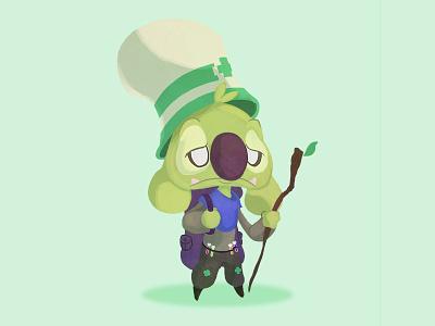 Port healer support medic illustration characterdesign character design