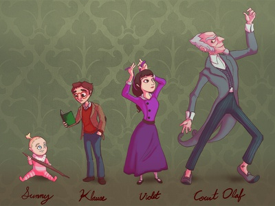A Series of Unfortunate Events illustration count olaf countolaf illustration characterdesign character design fan art series of unfortunate events