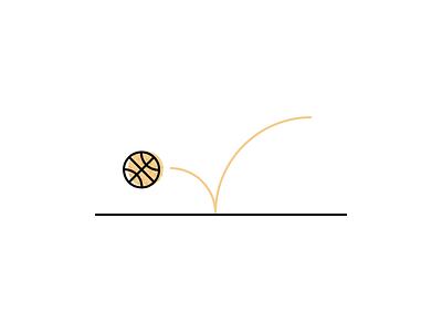 Bounce basketball