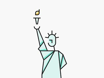 Statue Of Liberty statue of liberty illustration