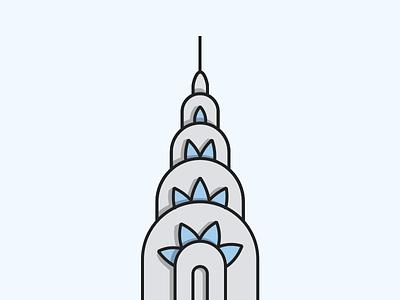 Chrysler Building illustration chrysler building