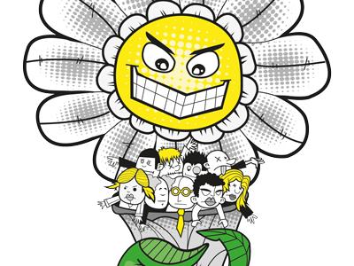 Bouquet illustrator