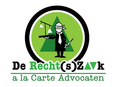 De Recht(s)Zaak Logo justice logo illustrator