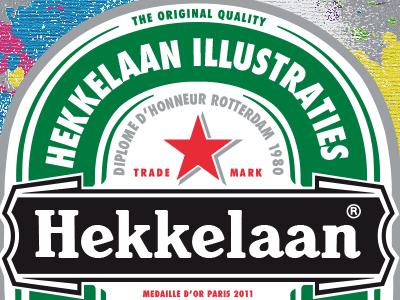 Hekkelaan Premium Illustrations illustrator vector