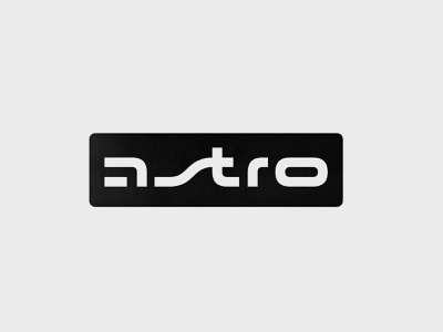 Astro 2 print future design sci-fi astro typo branding logo lettering typography type