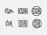 CVR monogram