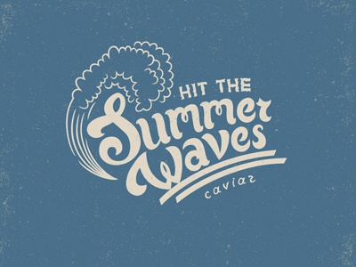 Summer waves