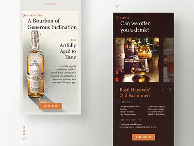 Mobile product presentation photo product mobile grid layout typogaphy design ui