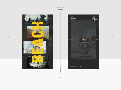 Corona WOOOHOOO app layout typogaphy mobile ui mobile interface ui design
