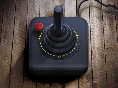 Atari Joystick iOS Icon