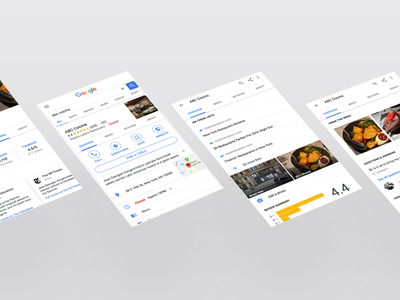 Modernizing Nav Search on Google interaction search maps mobile design ux ui modern google