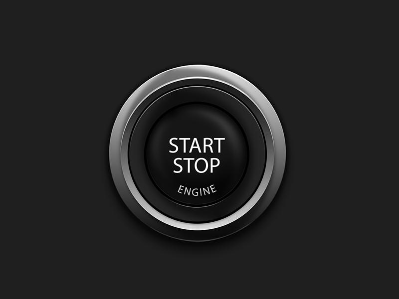Push to Start Icon by Alexxx on Dribbble