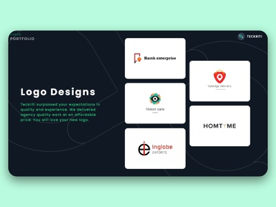 Logo Designs typography vector logo icon illustration design