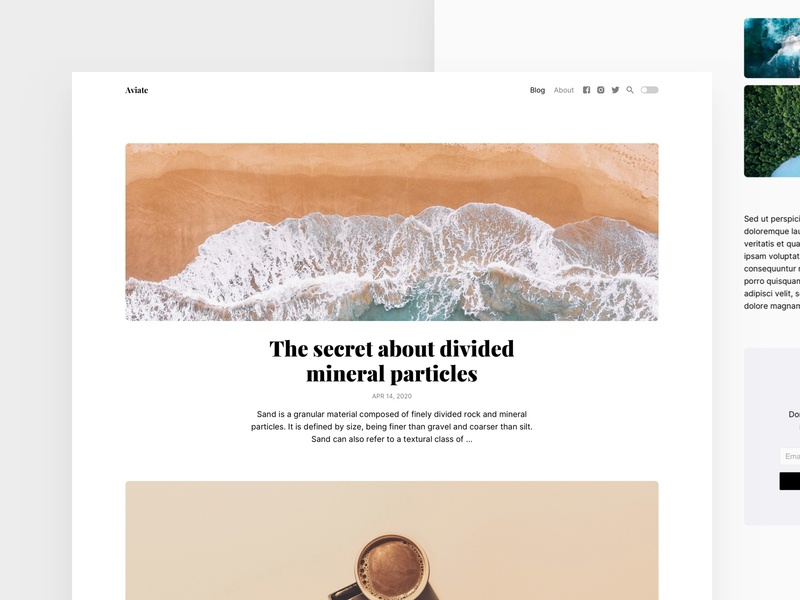Themes for Kirby cms wordpress kirby blog landingpage landing minimal theme