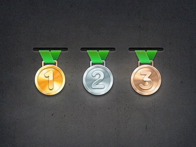 Medals dribble
