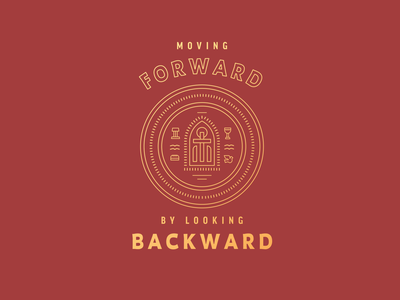 Moving Forward Branding church history easter communion christian typography series graphic sermon jesus prayer holy spirit dove church logo branding brand logo church pulpit trinity cross