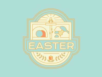 Easter 2019 Badge