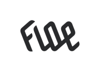 Floe – custom logotype